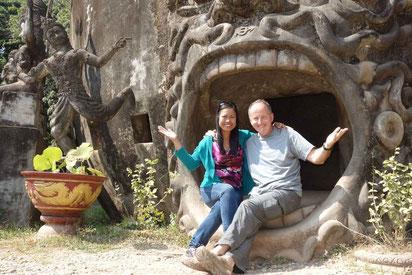 """Visite en touristes au"""" Bouddha park"""""""