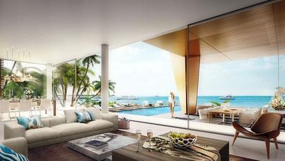 achat immobilier villa de prestige Vue mer à DUBAI  The WORLD LCDE