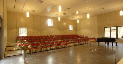Foto vom Chorsaal im GemeindeChorHaus St.-Johannis in Rostock