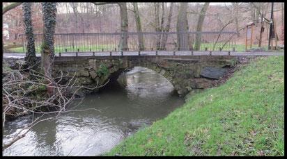 Röder-Brücke Hüttermühle Hüttertal Radeberg 2018.