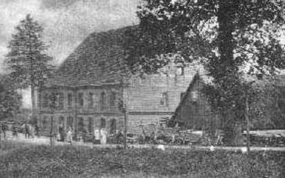 Die Schreibermühle 1922, nach dem Erwerb durch Elsa Brandström
