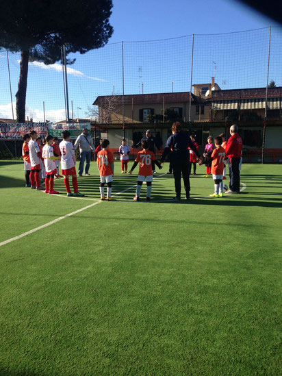 La Under 11 vittoriosa sul campo del Sant'Anna