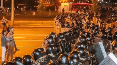 Folkeligt oprør i Hviderusland 2020