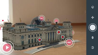 """Bild: © NTV: """"ntv AR – Der Reichstag"""". All rights reserved. Screenshots aus journalistischem Interesse erstellt."""