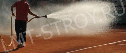 Обслуживание теннисных кортов
