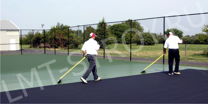 «ЛМТ-Строй» - ремонт и реконструкция теннисных кортов.