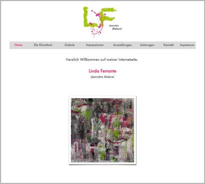 Die alte Homepage