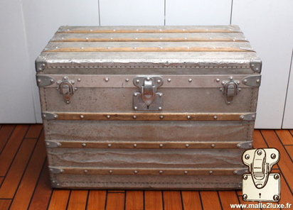 most expensive Louis Vuitton aluminum trunk in the world