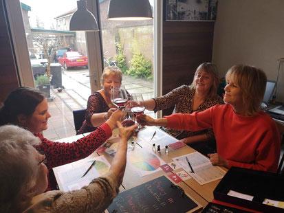 Wijnproeverij aan huis Alkmaar