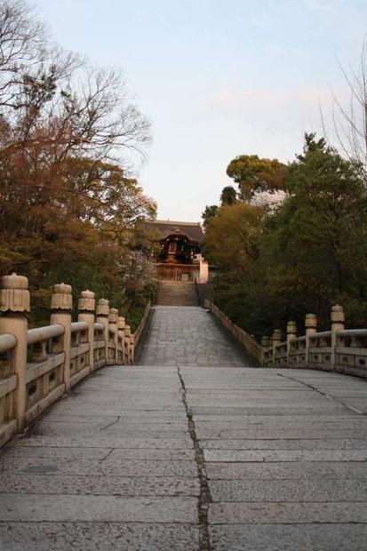 Le pont vers le So-mon du Ōtani Honbyō