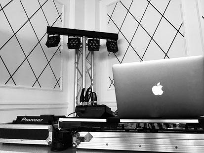 DJ Equipment Florian Weidner