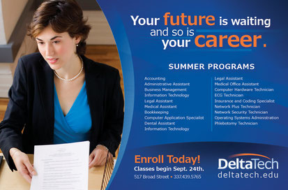 "Delta Tech ""Summer Start"" Print Ads"
