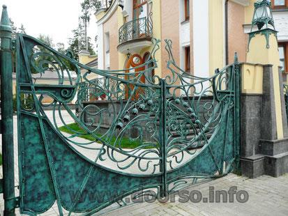 кованные ворота Москва.