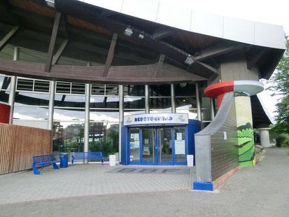 Rebstockbad - Eingangsbereich