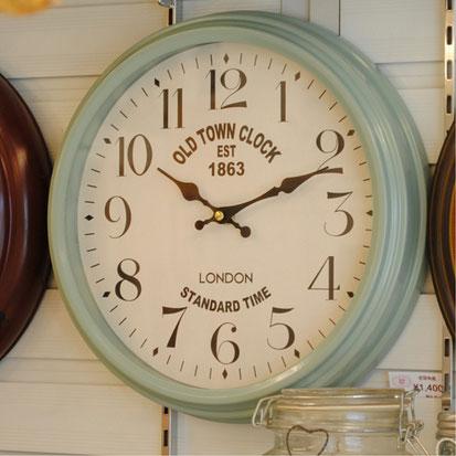 時計 壁掛け時計 ウォールクロック アンティーク 輸入雑貨 クォーツ