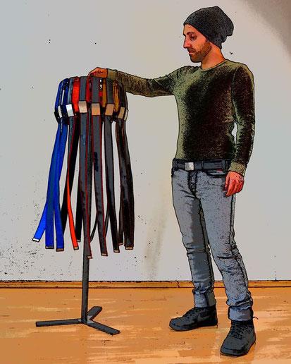 Hol Dir den Präsentationsständer Rackinger von Stef Fauser Design Berlin.