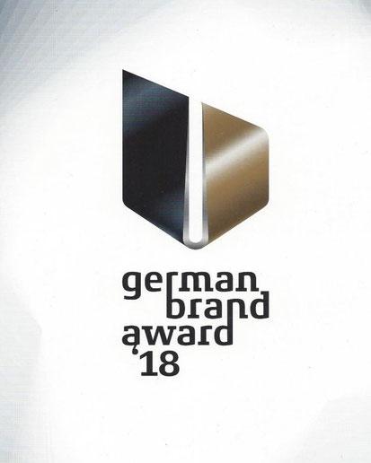 Juriert von einem hochkarätigen Experten-Gremium: Der German Brand Award 2018, für den Stef Fauser nominiert wurde.