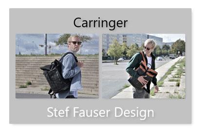Der Rucksack Carringer von Stef Fauser ist das ideale Transportmittel für die täglichen Inhalte.