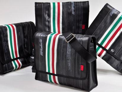 Stef Fauser Design hat eine neue Tasche mit vielen Innenfächern auf den Markt gebracht.