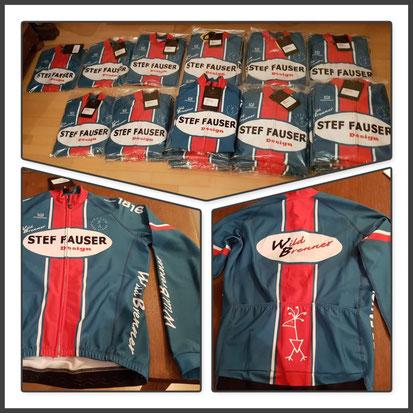 Mit dem neuen Langarmtrikot des Radteams Stef Fauser Design/Wildbrenner ist man für die kalte Jahreszeit bestens ausgestattet. Foto: Wildbrenner