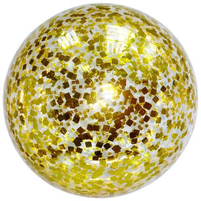 китайский шар, сфера баблс, начиненным фольгированным конфетти и надутый гелием.