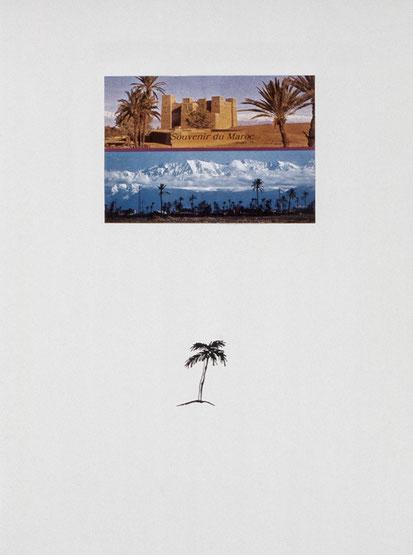 SOUVENIR DU MAROC - 2000/2001, Titelblatt