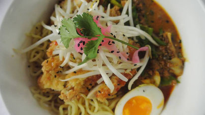 Tasty, steamy bowl of savoury Ramen. Who could say 'no' to that?