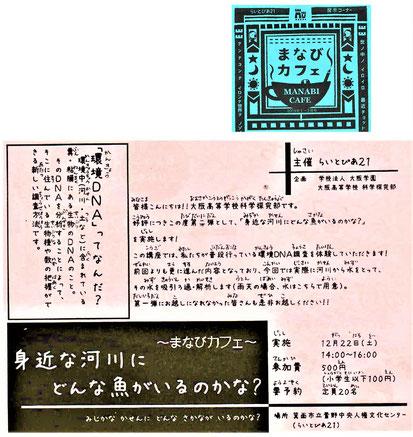 「ちらし」の文章にはルビが・・、小学生以下100円と書かれ・・、明らかに小さな子供向けを意識・・。