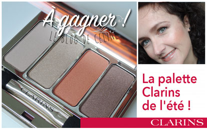 maquillage Clarins à gagner
