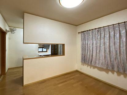 キッチン前 壁撤去前
