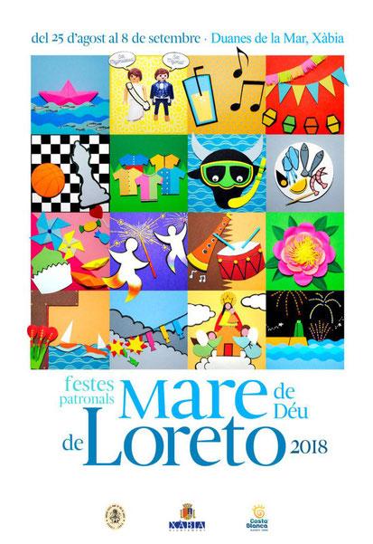 Fiestas Patronales Mare de Déu de Loreto en Xábia