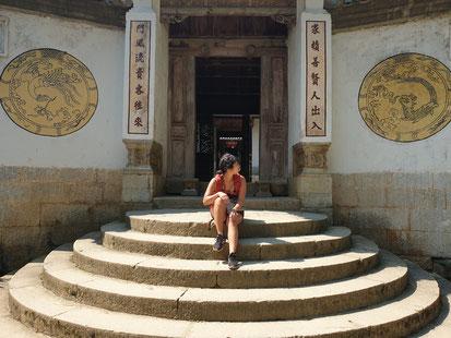 Tor zum Hmong King Palace