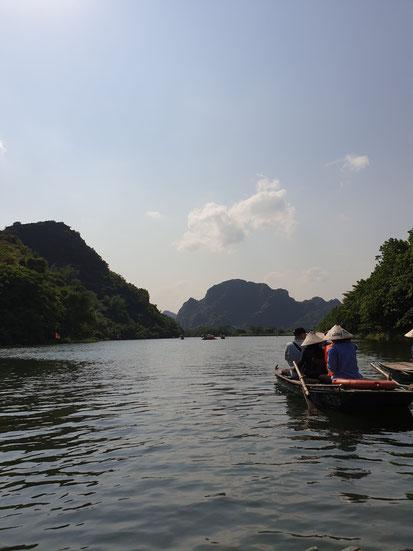 Bootsfahrt über den Tang An