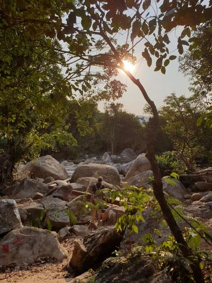 Rückweg vom Bo Ho Wasserfall