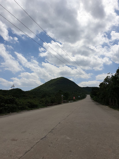 Straße zum Nationalpark Tam Coc