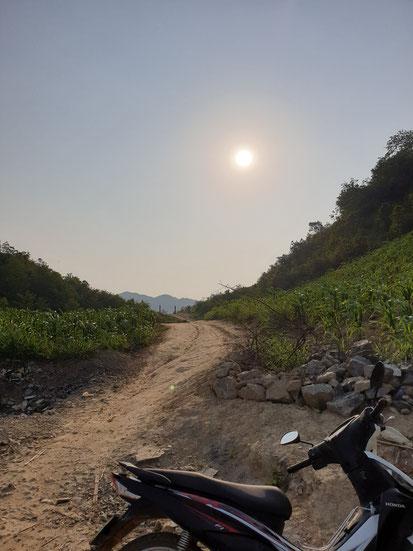 Grenze zwischen Vietnam und China am Ha Gaing Loop