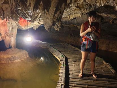 Tropfsteinhöhle im Bird Park bei Tam Coc