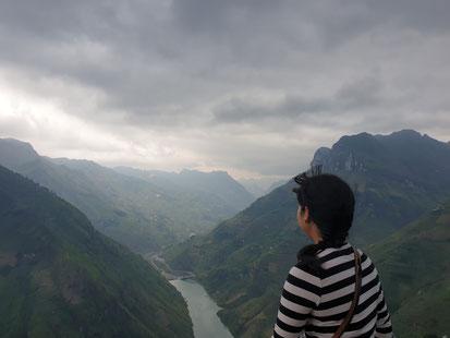 Atemberaubender Blick vom Ma Pie Leng Pass