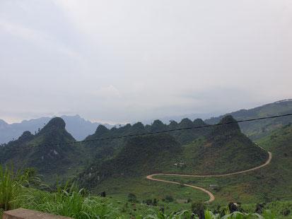 Blick über den Ha Gaing Loop