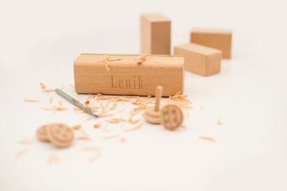Holzpielzeuge nach Kundenvorstellung