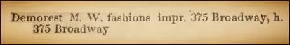 Demorest Margaret W. (1854)