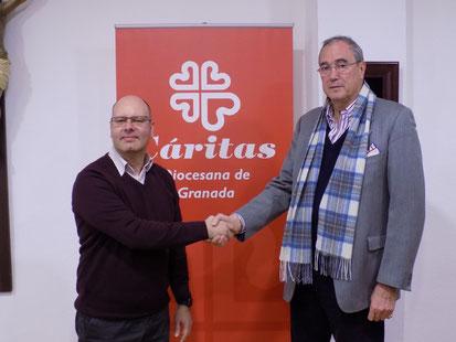 Convenio de colaboración Homa Digno - Cáritas Granada