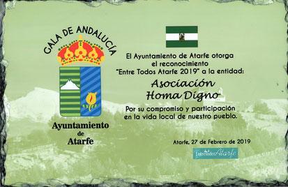 Ayuntamiento Atarfe - Reconocimiento a la labor de las asociaciones