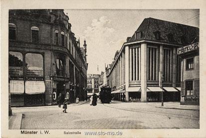 Damaliges Althoff/Karstadthaus um 1925, heute Stadtmuseum