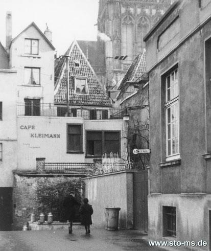 Café Kleimann - Vom Domplatz aus