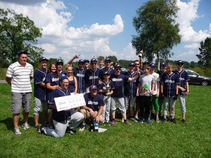 Nordhessischer Baseball-Schulmeister 2014 Amöneburg Admirals
