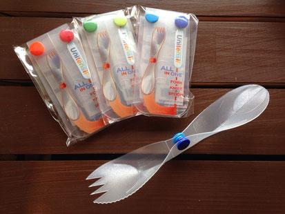 先日ご案内したUnitensil(ユニテンシル)All In One Cutlery‼