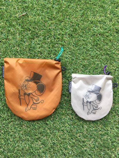 (左)+Ball(Camel) (右)+Candy(Greige)