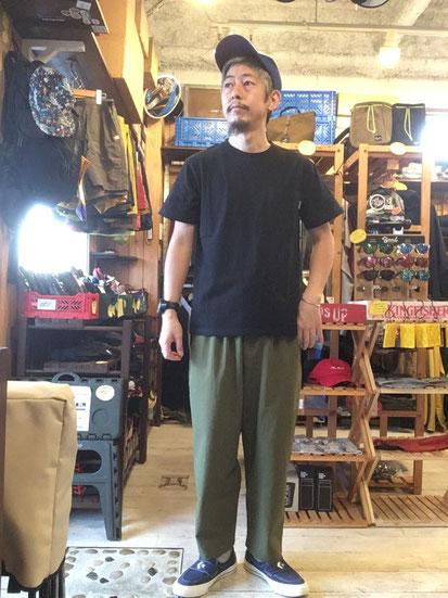 ※172㎝63㎏体型でサイズ「M」着用(Black)