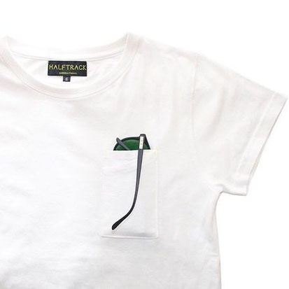 5S (WHITE) 各S・M・Lサイズあり  ¥5,180(税込)